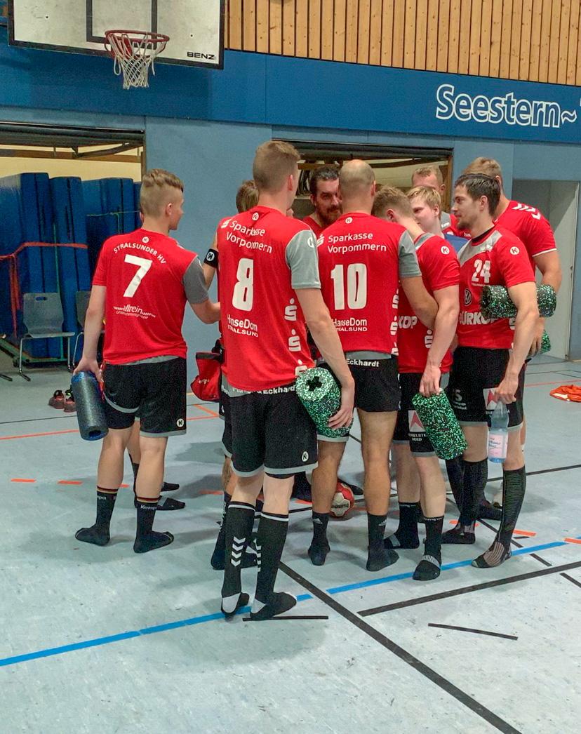 Die Handballer des Stralsunder HV starten morgen (19.30Uhr) mit ihrem Heimspiel gegen den VfV Spandau in die neue Saison der Oberliga Ostsee-Spree