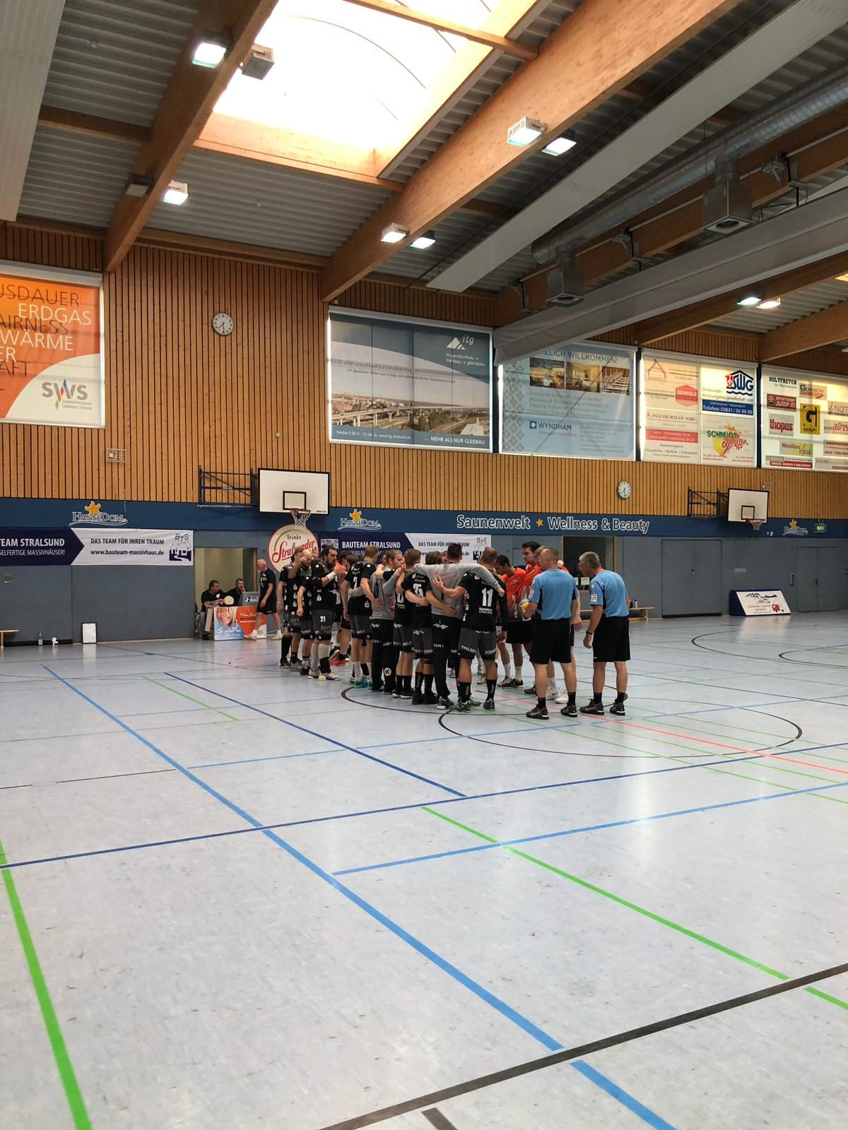 Patrick Schmidt ist in Stralsund herzlich aufgenommen worden