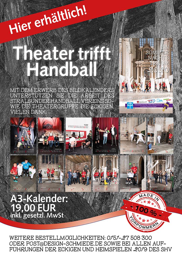 Handball trifft Theater