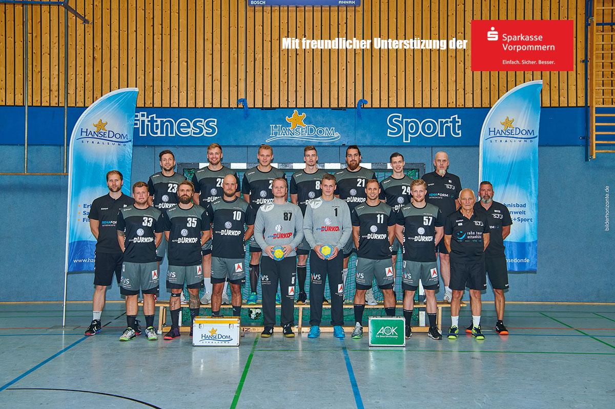 """SHV startet mit """"voller Kapelle"""" in die Rückrunde  Stralsunds Handballer treten nach kurzer Winterpause in der Oberliga Ostsee-Spree beim VfV Spandau an"""