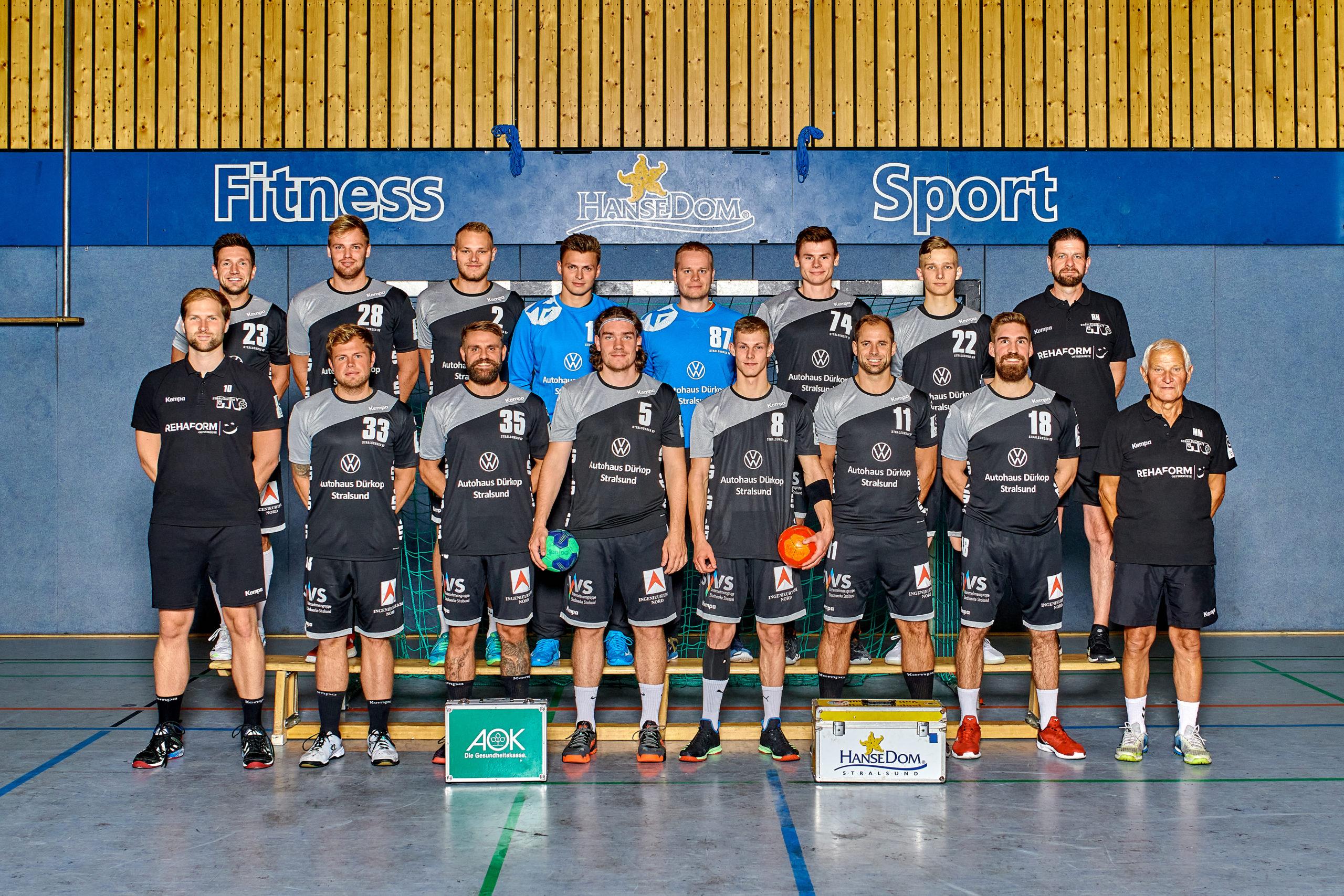 Stralsunder HV will sich mit Teamgeist in der 3. Liga etablieren