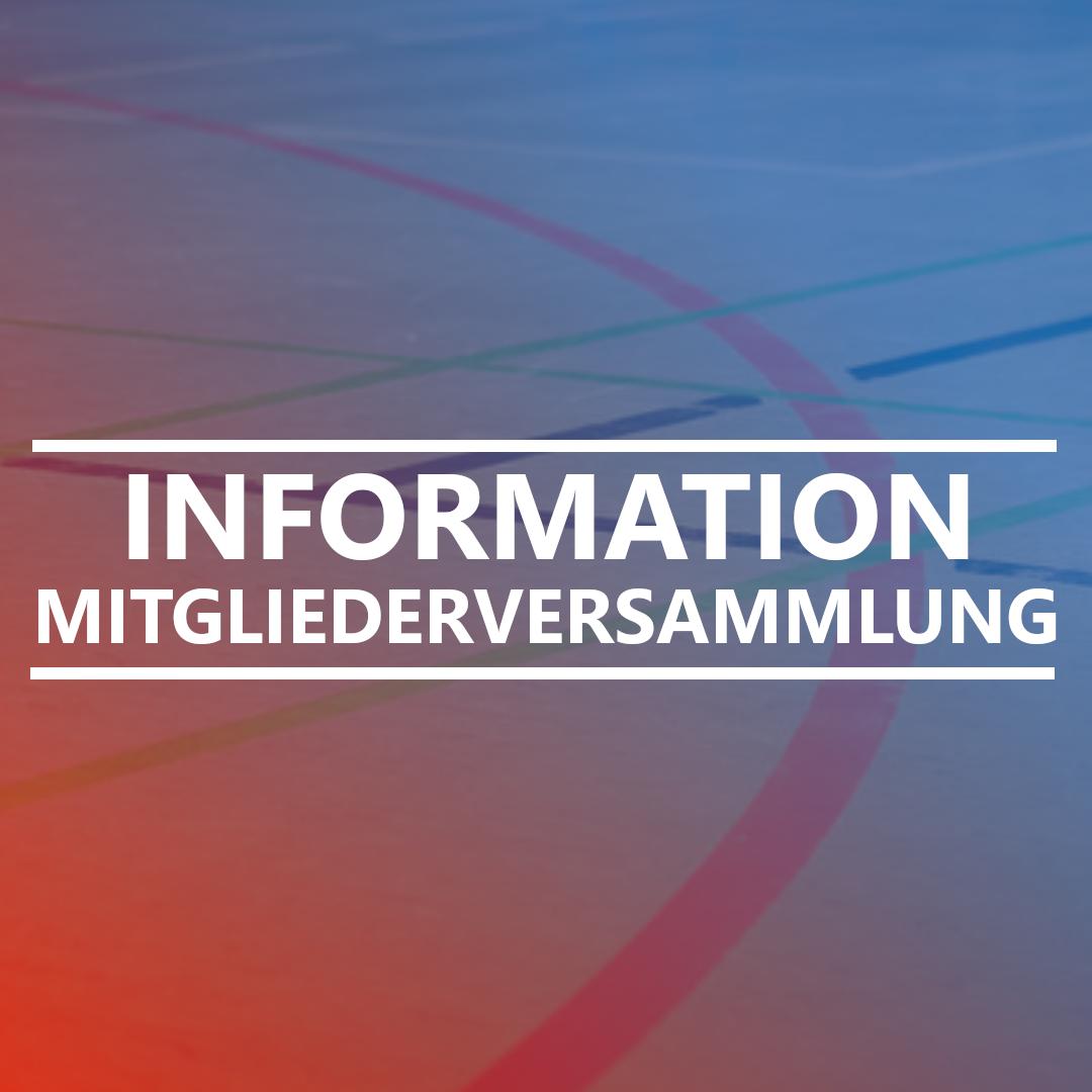 Aktuelle Information für unsere Mitglieder, dass keine Mitgliederversammlung in 2020 durchgeführt wird