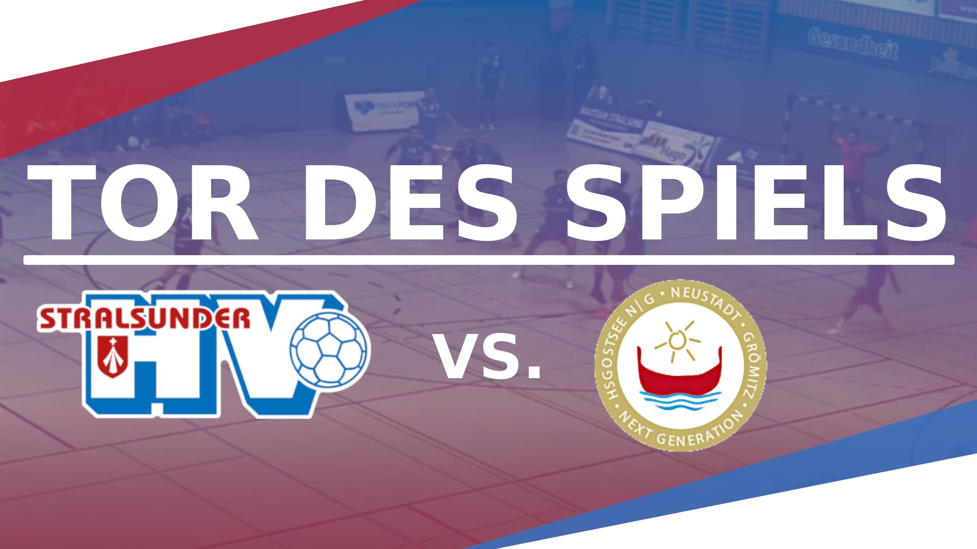 TOR DES SPIELS VS. HSG OSTSEE N/G