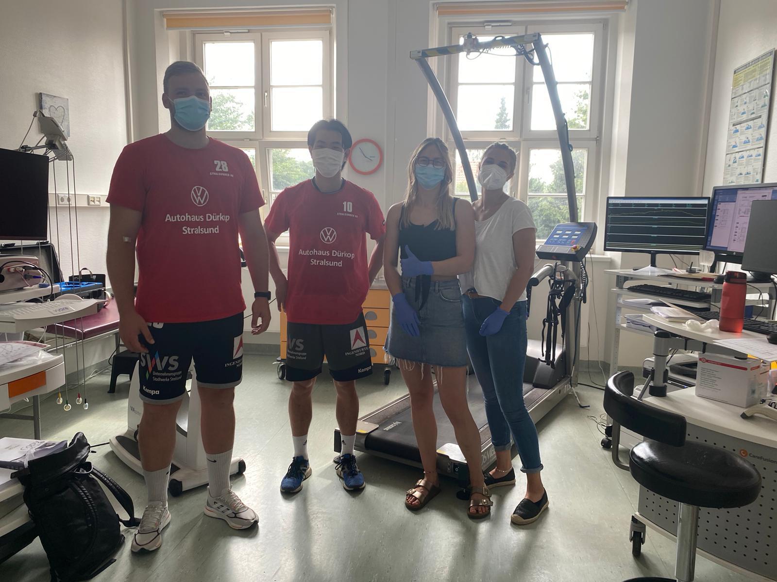 You are currently viewing SHV Männer zum Leistungscheck an der Universitätsmedizin Greifswald (UMG)