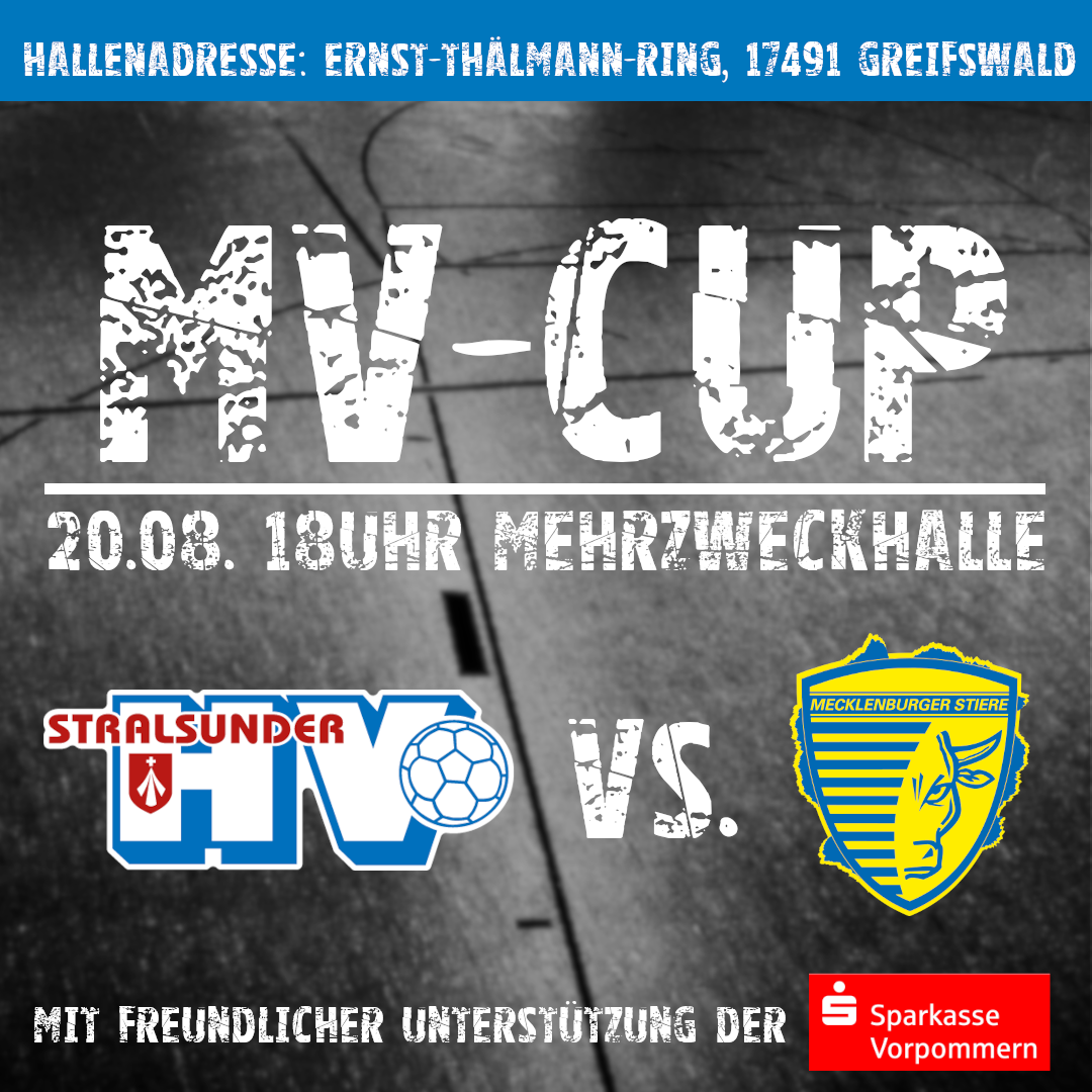 You are currently viewing MV-Cup / Wichtige Information !!!