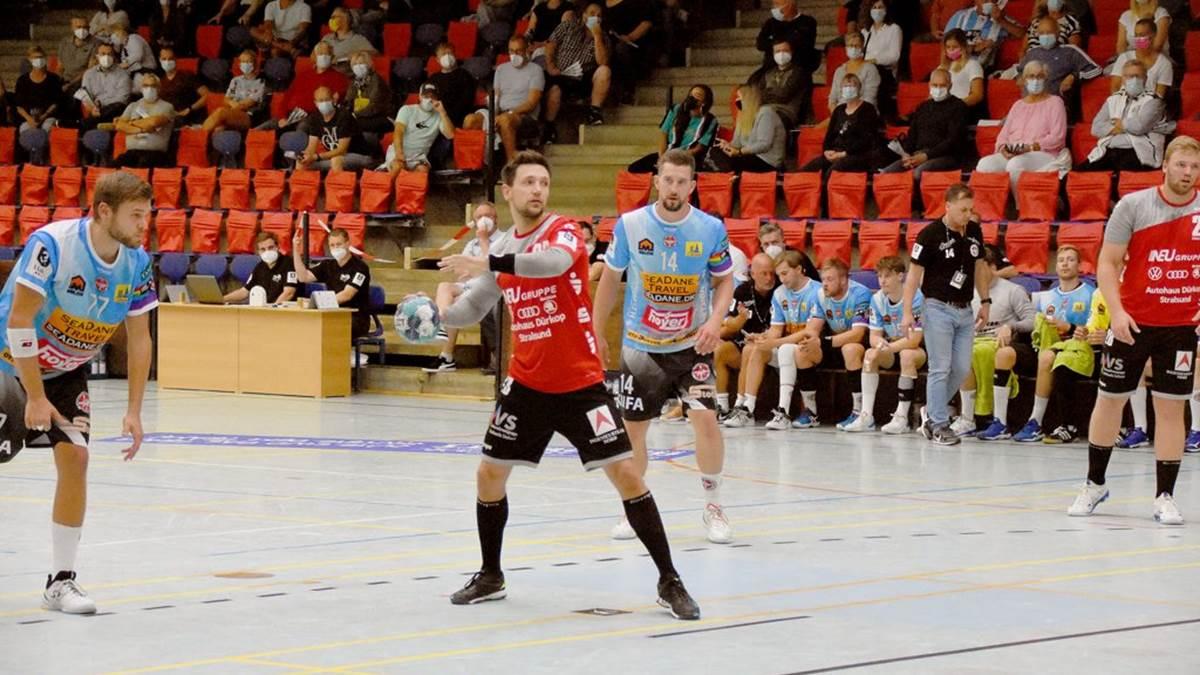 You are currently viewing Stralsunder HV verliert umkämpftes Spiel beim DHK Flensborg